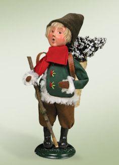 """German Woodland Boy"" a member of Santa Designs."