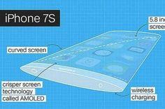 Con curvas por todos lados así sería el iPhone 7s que lanzaría Apple en septiembre   Seguramente el deseo de Apple con este terminal es dejar en el olvido las reacciones que hubo con el iPhone SE.  El nuevo terminal de la compañía de la manzana tendría un cuerpo curvo tanto en su anverso como en su reverso su tamaño sería de 58 pulgadas (en el modelo 7S Plus) o 55 pulgadas (en el 7s) y traería por fin el tan anhelado sistema de cargainalámbrica que han pedido los seguidores del fabricante…