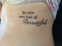 Taylor's tattoo! #tattoo #quote