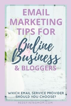Email marketing tips for online business and bloggers. MailChimp or ConvertKit? Learn the two major things you should consider before making a choice! Email marketing strategy entrepreneur / Email list growth / Make money from home / How to start a blog v http://www.buzzblend.com