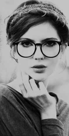big round spectacles for women