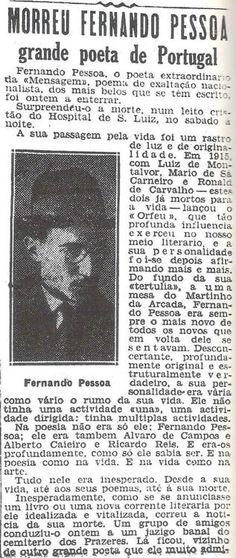in writing | Fernando Pessoa