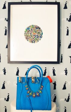 Got the blues for this Céline. http://www.thecoveteur.com/luisafere-luisa-fernanda-espinosa/