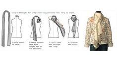 Esse é uma das amarrações mais tradicionais. ela resolve e esquenta bem. Foto/Pinterest 9 GAG