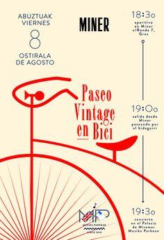 Paseo Vintage en Bici.  Donostia, 08.08.2014