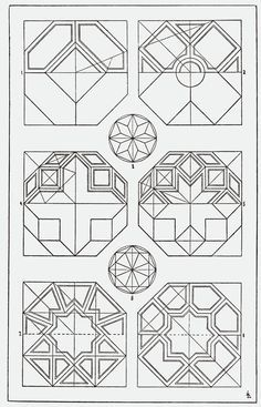 Octagon Ceiling Pattern. Classical Ceiling Pattern. Architectural ...