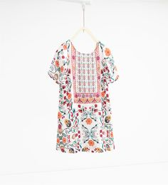 Floral dress-DRESSES-GIRL-SALE-KIDS   ZARA United States