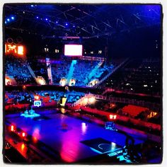 anaistipp's photo  of London 2012 Basketball Arena on Instagram