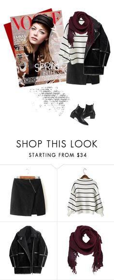 """YOINS"" by monmondefou ❤ liked on Polyvore featuring H&M, Ulla Johnson and Cuero"