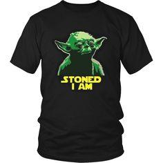 "Yoda ""Stoned I Am"" T-shirt"