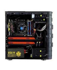 * Intel® Core™ i7-5820KSix Core 3.3GHz  * 16GB (4 x 4GB) DDR4 2800 MHz  * Intel 400MB 750 SSD  * 2TB Wrstern Digital Black Hard Drive  * ASUS Radeon R9 370 4GB  * ASUS Radeon R9 370 4GB  * 850W ATX Power Supply  * TP-LINK Archer T9E AC1900 Wireless  * LG DVD Burner  * InWin Dragon Chassis  * Windows 10.1 64-Bit  * 1 Year Warranty        Module Description   System Hardware   Model KS-CG11 -Kill Shot Cougar 11  Operating System Windows 10 Professional 64-Bit, No Media, 64-bit…