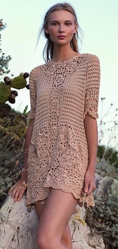 crochet dresses from liveinternet.ru