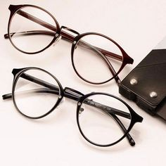 Vintage Clear Lens Eyeglasses
