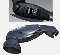 Armstar Bodyguard iPhone holder will make you look like Batman | The Red Ferret Journal