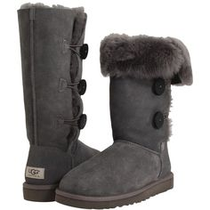 UGG Bailey Button Triplet Women's Boots ($220) via Polyvore