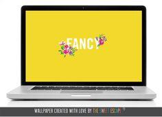 fancy yellow free wallpaper download / The Sweet Escape