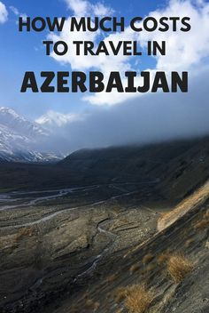 How much does it cost to travel in Azerbaijan? This Caucasian country is one of the cheapest places I've ever been to. Here's a summary of the typical costs: