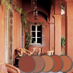Our warm vibrant palette was shaped by the sun drenched surroundings of Mexico. It is a great back drop for our vast array of Mexican Folk art. We chose a...