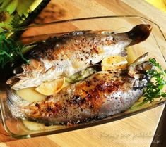Salt Water Fish, Mediterranean Recipes, Food To Make, Salmon, Seafood, Grilling, Good Food, Pork, Food And Drink