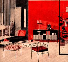Paul McCobb mid century design   1953 advertisement