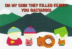 south park kenny killed