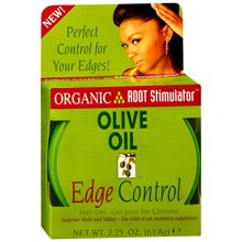 Olive Oil Edge Control Hair Gel - I love this stuff!