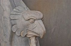 Sculpture detail; Longwood Gardens; Kennett Square, Pennsylvania, USA.  November 2014.