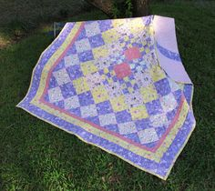 Children's Quilt Fairies Sparkle Quilt by EQuiltShop on Etsy Picnic Blanket, Outdoor Blanket, Quilt Bedding, Pincushions, Make And Sell, Fairies, Sparkle, Quilts, Children