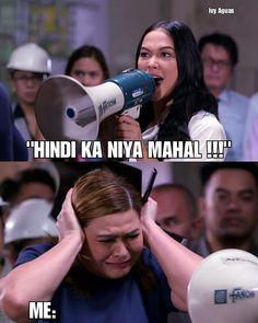 Memes Pinoy, Memes Tagalog, Pinoy Quotes, Hugot Quotes Tagalog, Tagalog Quotes Hugot Funny, Filipino Funny, Filipino Memes, Maja Salvador, Savage Quotes