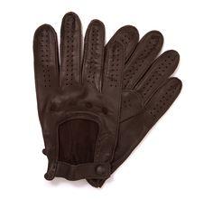 Rękawiczki samochodowe skórzane