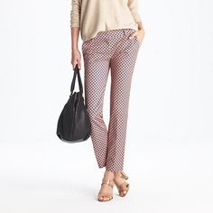 currently a sucker for cropped trousers {jcrew}