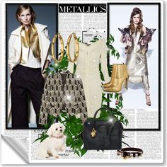 Walking the Dog: Modern Metallics | www.rompmag.com