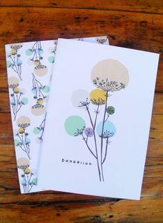 2x Be Happy Dandelion Notebooks £7.50
