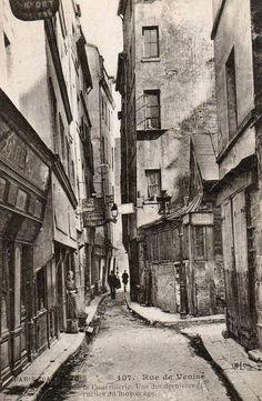 Paris 4e - Rue de Venise