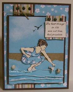 Beach Treasures using Stampin Up Seaside Sketches