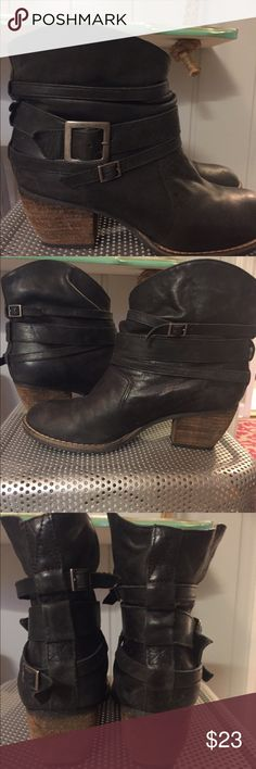 Mia Booties Black Mia booties MIA Shoes Ankle Boots & Booties