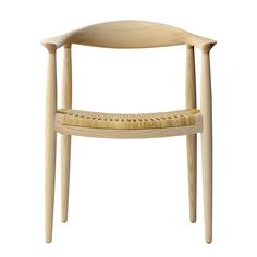 Shop SUITE NY for the PP501 Dining Chair by Hans J Wegner, and more modern Danish seating, modern solid wood chairs, and designer wooden dining chairs.
