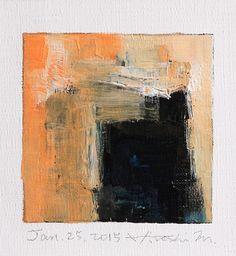 Hiroshi Matsumoto #Art #Abstract Oil Painting   jan252015 | Flickr
