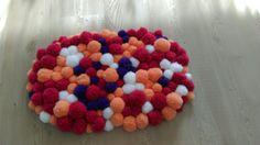 DIY Pompom Teppich Badematte Wohnideen