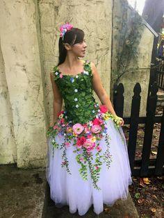 Garden Fairy Costume Kids Halloween 30 Ideas For 2019 Fairy Costume Kids, Fairy Halloween Costumes, Diy Costumes, Adult Costumes, Costumes For Women, Forest Fairy Costume, Fairy Godmother Costume, Fairy Princess Costume, Godmother Dress