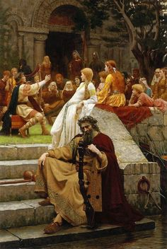 pre raphaelite paintings by leighton | Edmund Blair Leighton