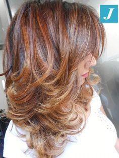 Degradé Joelle Shades #cdj #degradejoelle #tagliopuntearia #degradé #igers #musthave #hair #hairstyle #haircolour #longhair #ootd #hairfashion #madeinitaly #wellastudionyc