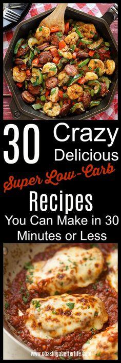 Easy 30 Minute Keto Dinners - Keto Brownies - Ideas of Keto Brownies - 30 Keto Dinners You Can Make in 30 Minutes or Less Ketogenic Recipes, Paleo Recipes, Low Carb Recipes, Cooking Recipes, Brownies Keto, Biscuits Keto, Desserts Keto, Clean Eating, Keto Lasagna
