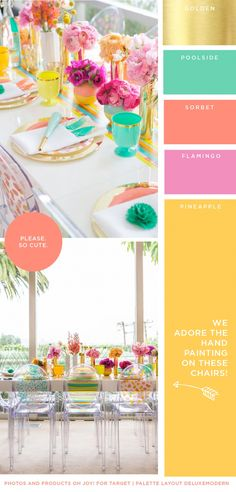 Miss Modern Style | Color June Palette pool cushion colors
