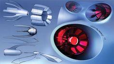Alfa Romeo 4C | Tail Light Design Sketches