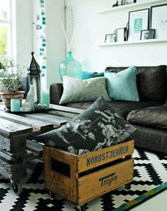 Decorate Using Turquoise Color - www.freshinterior.me
