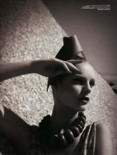 Ieva Laguna by Luciana Val & Franco Musso for Vogue Turkey May 2012