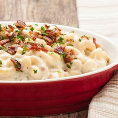 The Best, Creamiest Mac 'n Cheese with Gruyere, Cheddar, and Bacon ...