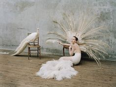 Jennifer Lawrence photographed by Tim Walker for W Magazine, October 2012.