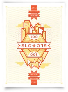 AIGA Poster- I love this design, and I love this city!
